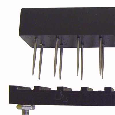 TMS multiple probe fixture
