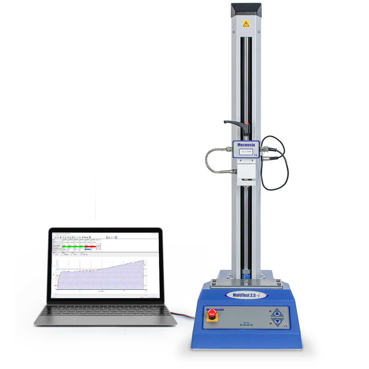 MultiTest single-column texture analyzer and product tester software controlled system