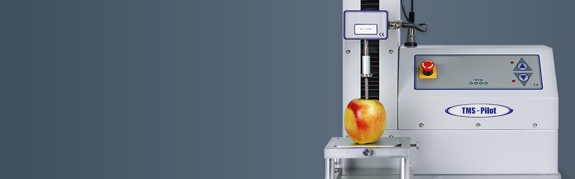 How does a texture analyzer work? Texture measurement system testing apple texture